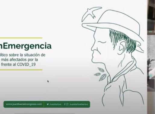 Debate de control político #LaPazEnEmergencia