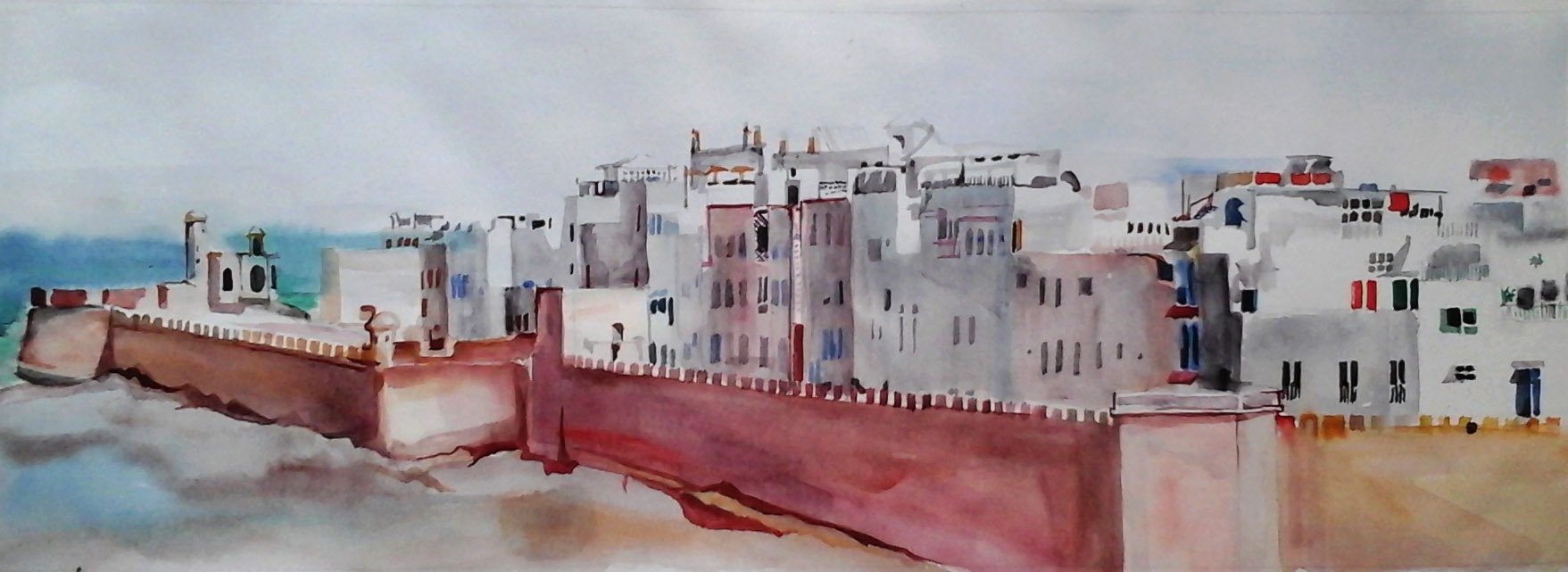 Marocco aquarell