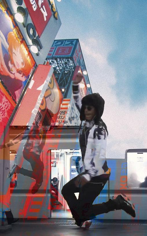 Digital collage_LilBuck_dance_hiphop_Tok