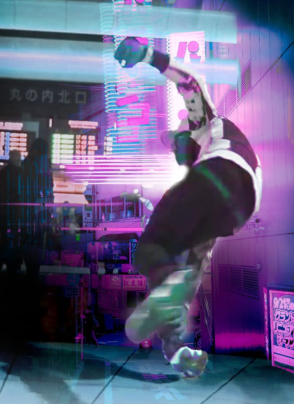 digital_collage_hiphop_LilBUck_dance_Tok