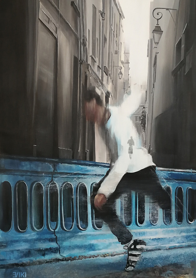 LIL' BUCK DANCING IN PARIS