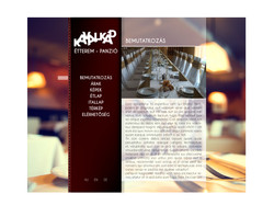 Webdesign for a restaurant