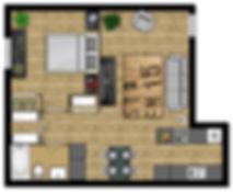 One Bedroom Waco Apartment