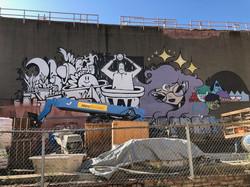 Fresh mural, Fall 2019