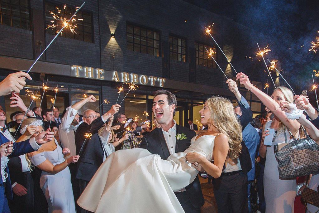 Natalie & Blake Wedding at The Abbott Kansas City