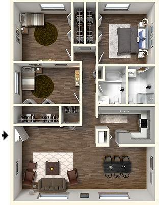 3 Bedroom, 2 Bath West Lafayette Apartment