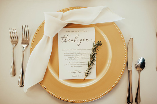 Wedding Settings The Abbott