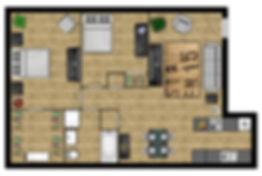 Two Bedroom Waco Apartment