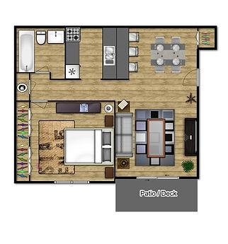 Stadium Apartments 1 Bed Room Apartment
