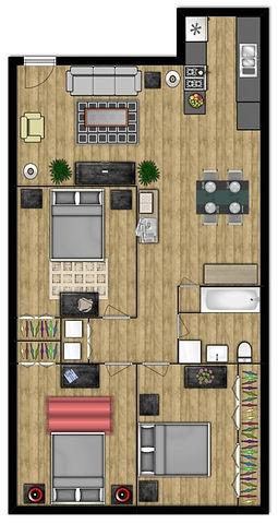 Three Bedroom Waco Apartment