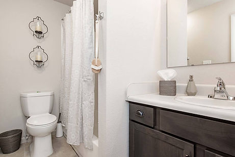 Remodeled Bathroom West Lafayette Apartment for Rent