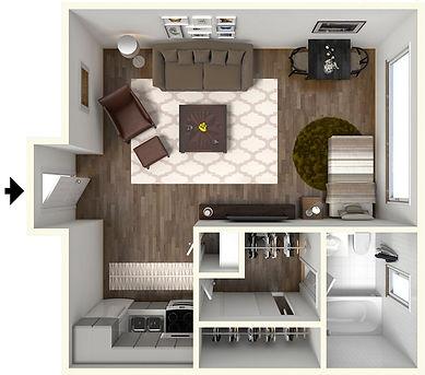 Studio West Lafayette Apartment