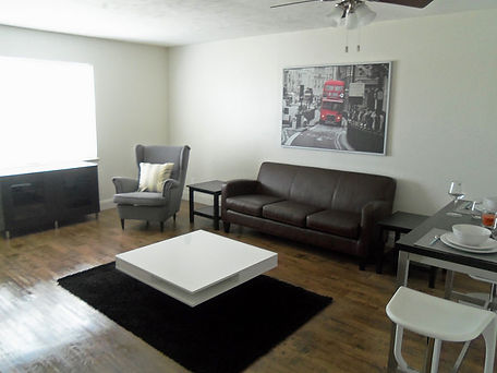 Waco Texas Apartments Living Room