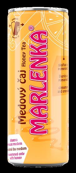 MARLENKA Medový čaj Pomeranč a skořice