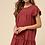 Thumbnail: Wine Ruffle Dress