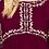 Thumbnail: Burgundy Babydoll Top