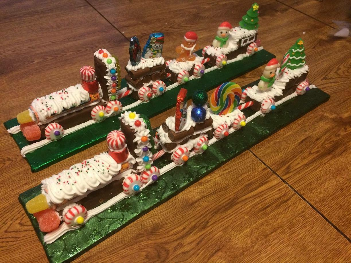 Gingerbread Trains!