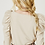Thumbnail: Tan Puff Shoulder Top