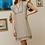 Thumbnail: Stripe Embroidered Dress