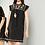 Thumbnail: Embroidered Sripe Dress