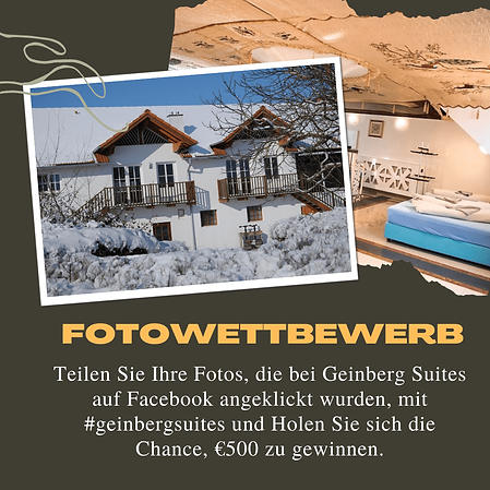 Geinberg Suites Photo Contest 1- German-