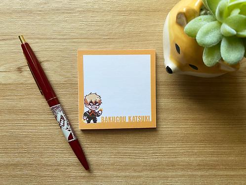 Sticky Note - Bakugou