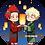 Thumbnail: Bakushima Lantern Charm