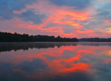 Sunrise at Muscatatuck National Wildlife Refuge