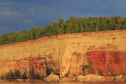 Pictured Rocks Colors