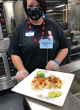 Amy Fossett won both 4th Place and Best Presentation with Crabby Street Tacos.jpeg