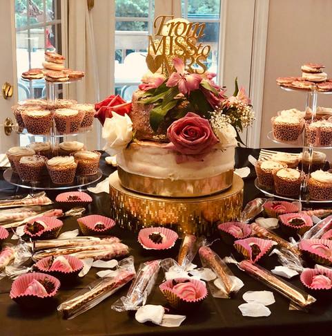 Rose-gold-bridal-shower-cake-and-goodies.JPG