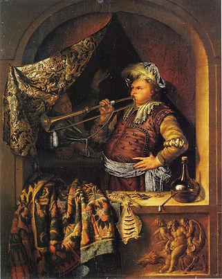 Willem-van-Mieris_-The-Trumpeter-1700-46