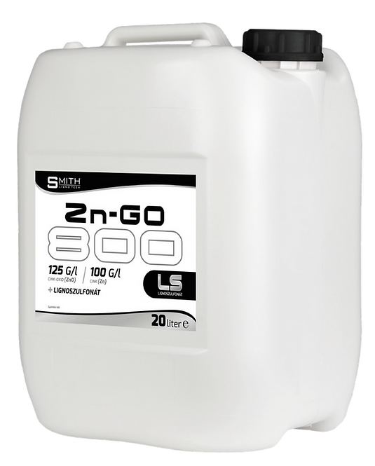 SMITH Lignotech Zn-Go 800 Cink lombtrágya 240 liter