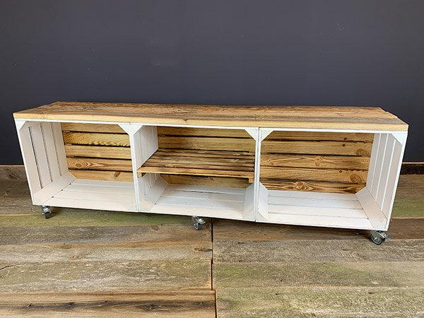 """Massiv-Lowboard """"Taja"""" 150x32x45cm"""