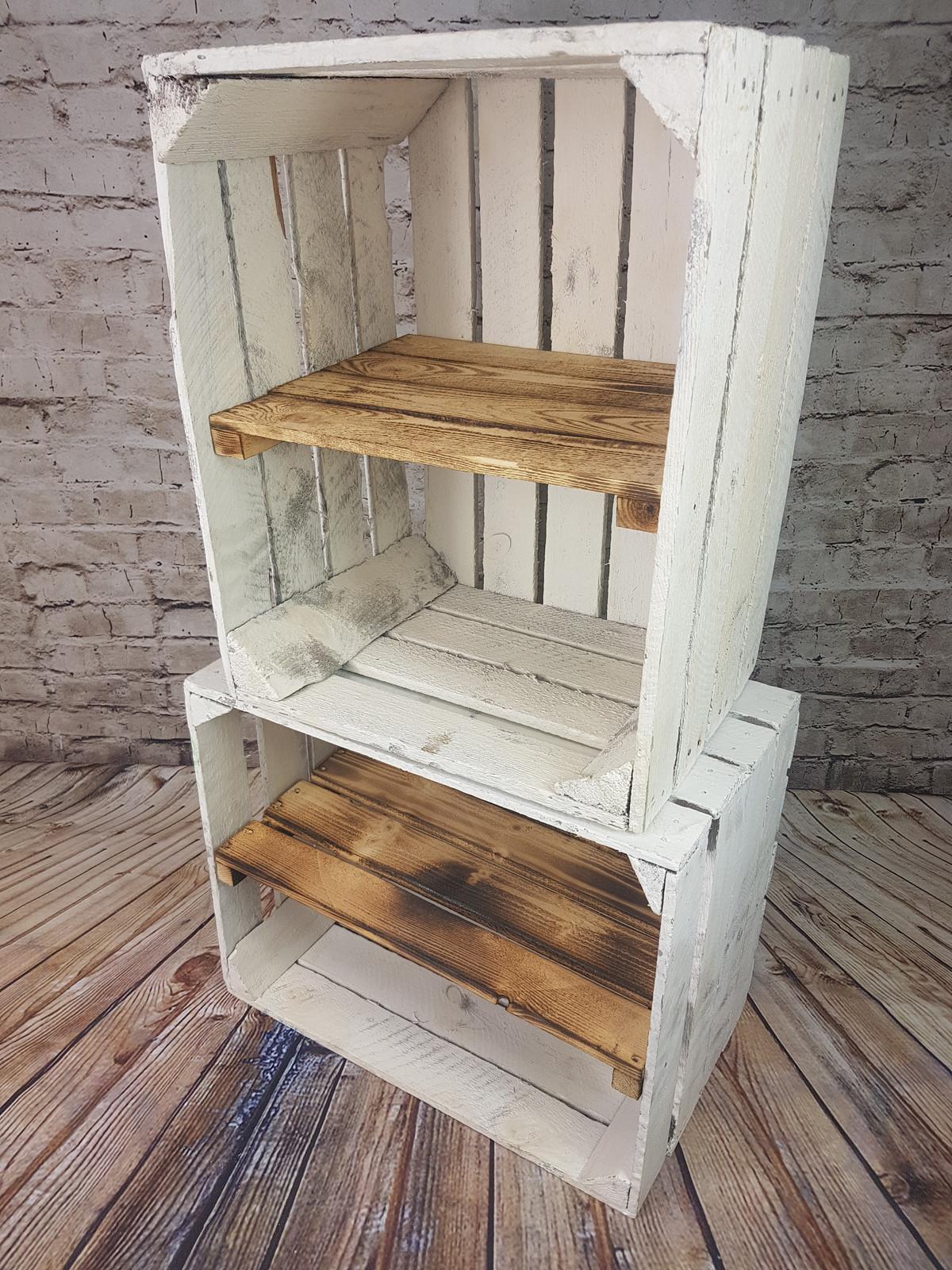 regal aus holzkisten finest obstkisten regal geflammt xxcm with regal aus holzkisten. Black Bedroom Furniture Sets. Home Design Ideas