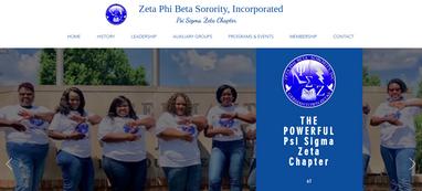 Zeta Phi Beta Sorority, Inc. - Psi Sigma Zeta Chapter