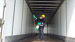 control de plagas en furgones, caja y contenedores