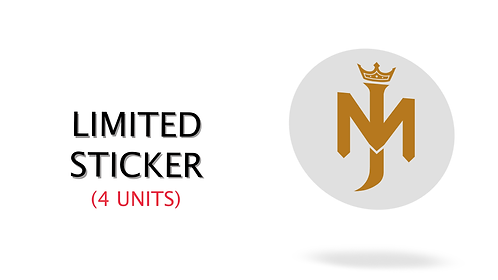 LIMITED STICKERS (4 units)