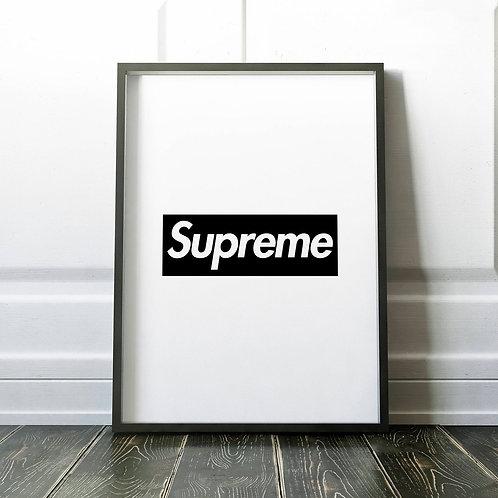SUPREME BOX LOGO PRINT