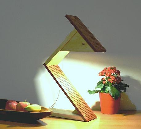 Narito: lampe en Sipo et Tulipier