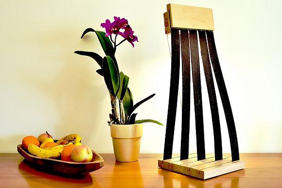 Parino: lampe originale en Wengé et Hêtre