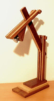 lampe de bureau en bois massif haut de gamme