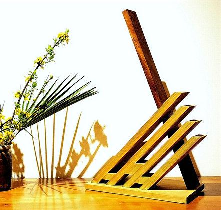 Kirino: lampe design en bois massif