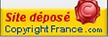 site déposé Copyright France
