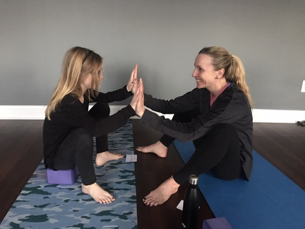 Strong Like a Girl: Mother/Daughter Yoga