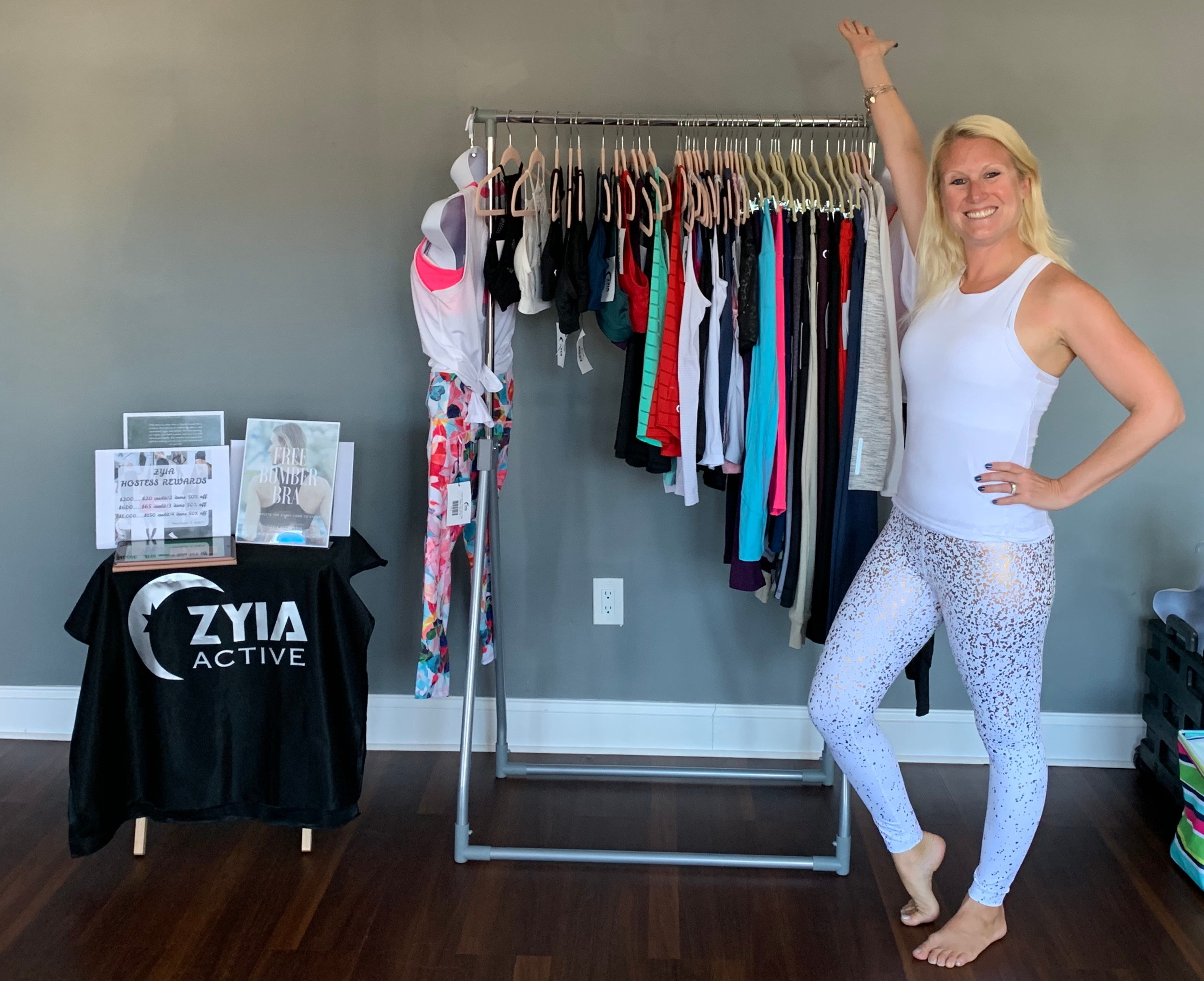 Mandy and ZYIA products