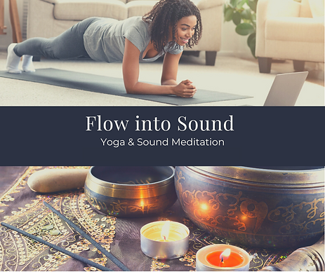 UNWIND Yoga Flow into Sound