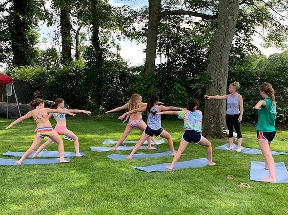 NP Community Pool Free Yoga