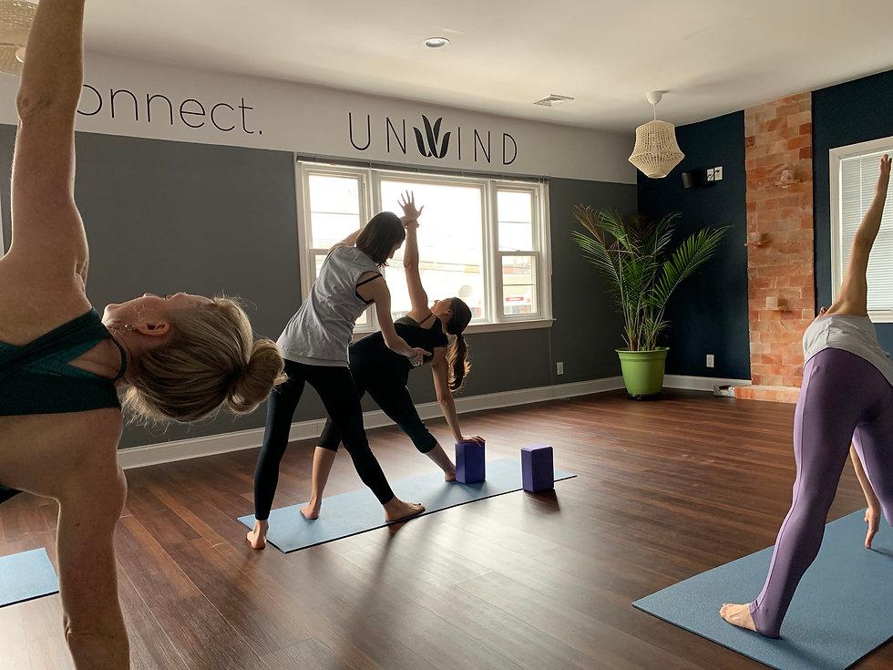 UNWIND Yoga & Wellness offers myriad options for yoga, meditation, and wellness