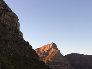 Sunrise on Table Mountain.